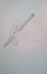 Mano con matita psicologo Brescia